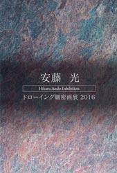 安藤光 ドローイング緻密画展2016